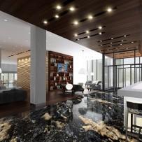 Projekt wnętrz hotelu 4*