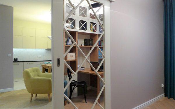 Kolorowe mieszkanie z gabinetem
